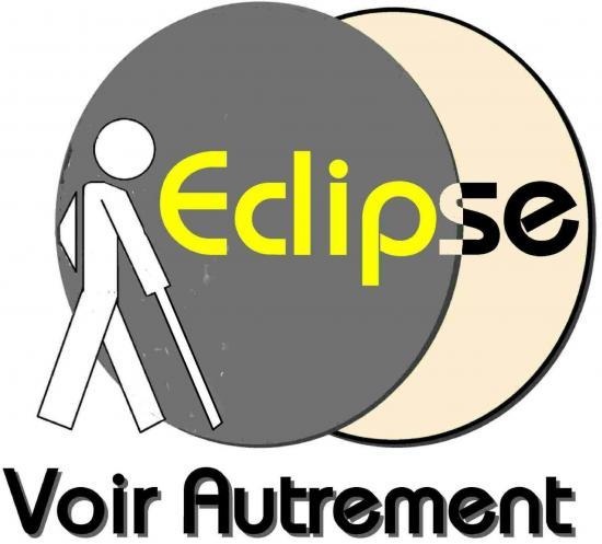 Logo de l'Association Eclipse, Voir Autrement